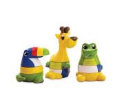 Kiddopotamus Stack The Pack Baby Toys