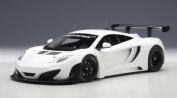 Mclaren 12C GT3 White 1/18 by Autoart 81341