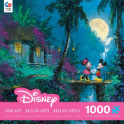 Ceaco Disney Mickey Mouse, Fine Art, Moonlight Proposal Puzzle