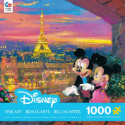 Ceaco Disney Mickey Mouse, Fine Art, Paris Sunset Puzzle