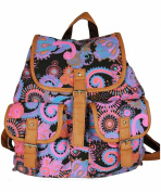YONGER Vintage Hobo Satchel School Back Pack Laptop Bookbag Girls