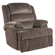 MFO Big and Tall 160kg. Capacity Aynsley Charcoal Microfiber Recliner