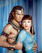 "Yul Brynner and Anne Baxter in ""The Ten Commandments"" 264688"
