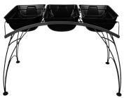 Plastec GT01GP Garden Table, Graphite Finish