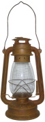Craft Outlet Rustic Tin Oil Lantern, 30cm