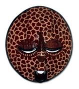 Ghanaian wood mask, 'Chubby Giraffe'