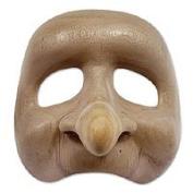 Wood mask, 'Big Nose'