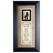 A Prayer for My Mom 8 x 16 Wood Wall Art Frame Plaque