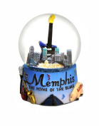 Memphis Tennessee Colourful Snow Globe 65mm