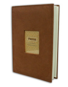 Golden State Art Photo Album, Holds 300 10cm x 15cm pictures, 3 per page, Suede Cover, Rusty Bronze