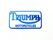 Triumph Motorcycles Classic Racing Biker Label Jackets Iron on Patches