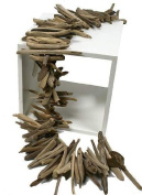 0.9m Natural Weathered Drift Wood Garland for Table or Decor