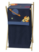 Baby Children Kids Clothes Laundry Hamper for Space Galaxy Rocket Ship Bedding Set