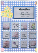Special Moments Baby Years Collage Frame