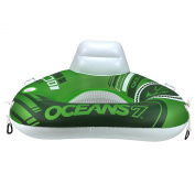 Ocean 7 Triangle River Lime Tube Mesh Seat