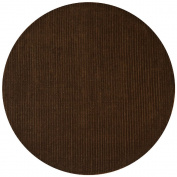 Pulse Round Rug, 2.4m by 2.4m, Brown