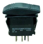 Seachoice Contura Rocker Switch Momentary On / Off / Momentary On 6 Terminals