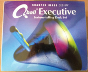 Sharper Image Q Ball Executive Fortune Telling Desk Set