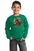 Brown Horse Youth Sweatshirt - Mother And Foal