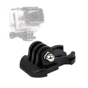 DURAGADGET Horizontal Surface Quick-Release Buckle Strap Mount For GoPro Hero 2 & Hero 2 Outdoor Edition