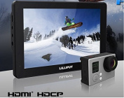 LILLIPUT 18cm Mopro7 Black 1280x 800 Ips Screen Hdmi for Dslr Camera with 2600mah Built-in Battery Hdmi & Av Input Specific Monitor for Gopro Hero 3+ 4 Series By Lilliput Official Seller :Viviteq