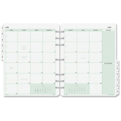Day-Timer Monthly Calendar Refill - Monthly - 28cm x 22cm - 1 Year - January till December 1 Month Double Page Layout