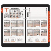 Ataglance E71250 Burkhart`s Day Counter Recycled Desk Calendar Refill, 11cm x 19cm , 2016