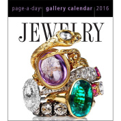 Jewellery 2016 Page-A-Day Gallery Daily Desk Boxed Calendar