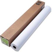 HP Q1956A Designjet Inkjet Large Format Paper, 16kg., 110cm . x 70m, White
