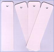 Bookmarks - Plain White -Made in USA 100 /Pk