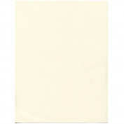 JAM Paper® - (8.5 x 11) Strathmore Natural White Linen 36kg Cover Cardstock - 30% recycled - 50 sheets per pack