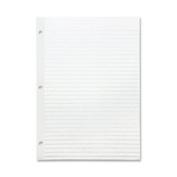 "Reinforced Filler Paper, Wide Rule, 28cm ""x 8-1.3cm "", 100/PK, WE, Sold as 1 Package, 100 Each per Package"