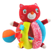 Hessie - Baby Plush Toy with Ball of Cat