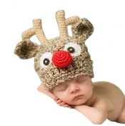 Scheppend Fashion Cute Baby Girls Boys Stretchy Warm Winter Knit Crochet Hat, Cartoon Animal Hat