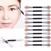 JaneDream 12 X Double-end Eye Shadow Eyeliner Brush Makeup Applicator Kit for Girls