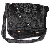 Gothic Victorian Renaissance Girls Punk Vintage Vamp Black College Shoulder Bag