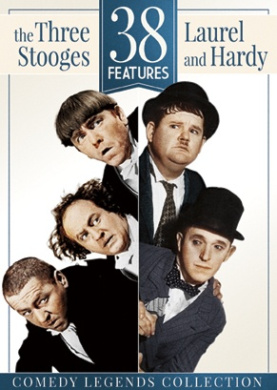 38 Features: The Three Stooges and Laurel & Hardy