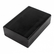 Aluminium Project Box DIY Electronic Enclosure Case 124mmx88mmx38mm