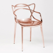 Kartell Masters Chair in Metallic Copper