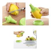 LIFECART 2PCS Plastic Fruit Citrus Lemon Lime Orange Stem Sprayer Set Fruit Kitchen Tool