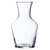 6X Arcoroc Vin Carafes 1Ltr 203X118mm Glass Wine Jug Decanter Restaurant