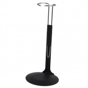 C-Type 1/6 Scale Doll Display Stand Holder for 30cm Doll Figures Black