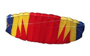 Powerfly Trainer Stunt Power Kite - Dual Line Control - 2m x 0.8m by Powerfly