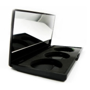 BF New Pro 3-Pan Empty Palettes Case With Mirror For Makeup Palettes Make Up Shades Eyeshadow