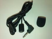Mini Compact 3.5mm Jack Audio MIC Microphone for Pocket recorders, Micro Recorders, IC Recorders, Skype MSN Google VoIP Windows XP/Vista/7 Webcam Vedio Internet Call Laptop PC with 1.1m , Mono