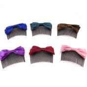 Set of 6 combs 'Scarlett'tutti frutti.