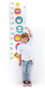 Height Chart with Stickers