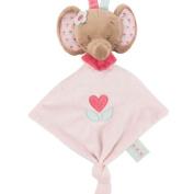 Nattou Charlotte & Rose Mini Doudou Comforter Rose The Elephant
