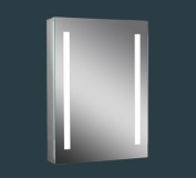 "Lumino Mirrors ""Ossia"" - LED Bathroom LED Mirror Cabinet Illuminated Mirror - H70cm x W50cm - FREE NEXT DAY DELIVERY"