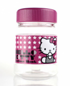 Hello Kitty 2-in-1 Coin Jar Counter with Lcd Clock